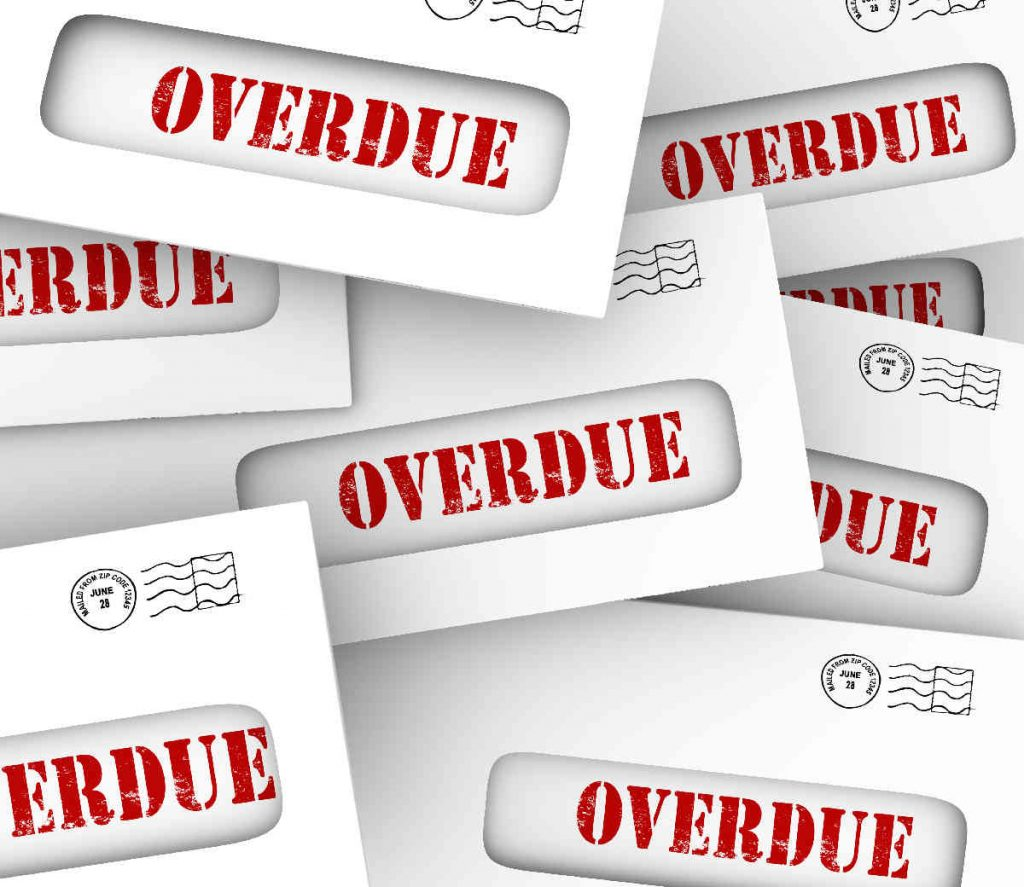 Unfair preference overdue invoice letter