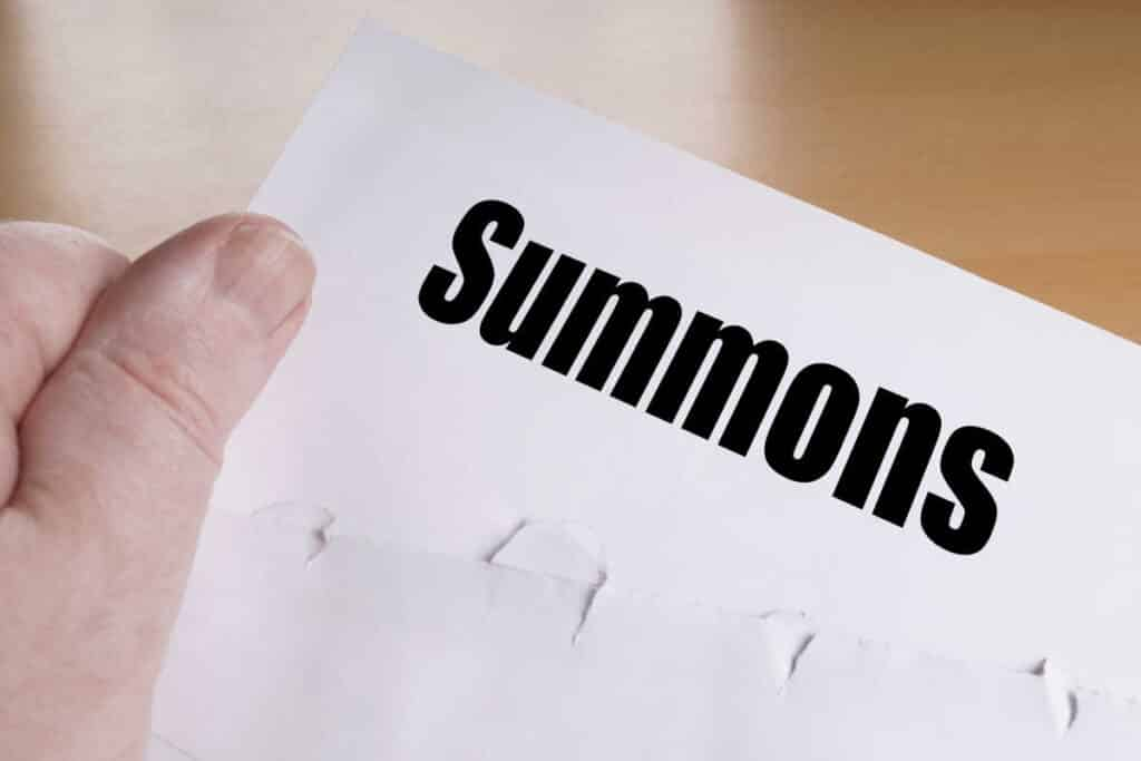 What to know about receiving or issuing a public examination summons